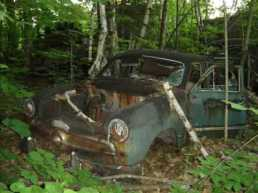 Woodland car broken....
