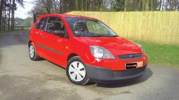 Low mileage Ford Fiesta 1.25 Studio for sale by Woodlands Cars Ltd - Rillington