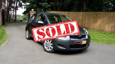 Low mileage Toyota Yaris 1.0 for sale by Woodlands Cars Rillington