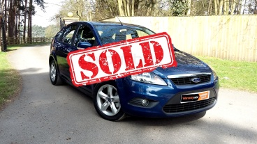 Ford Focus 1.6 Diesel for sale by Woodlands Cars - sold