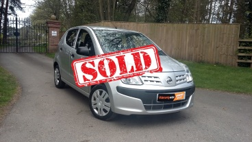 Nissan Pixo for sale by Woodlands Cars Rillington - sold