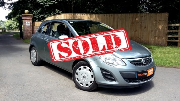 Vauxhall Corsa 1.2 For Sale by Woodlands Cars - Malton sold