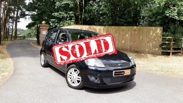 2008 Ford Fiesta 1.4 Ghia for sale by Woodlands Cars - sold