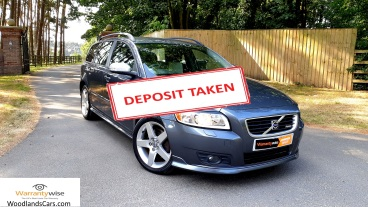 Volvo V50 R-Design for sale by Woodlands Cars Ltd - sold