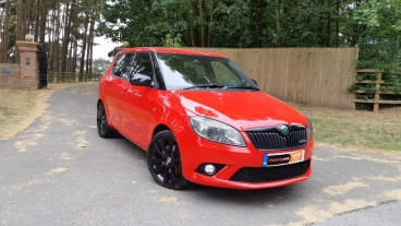 Skoda Fabia VRS for sale by Woodlands Cars Rillington