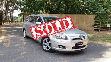 Toyota Avensis for sale by Woodlands Cars - sold