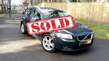 2010 Volvo V50 2.0 Diesel SE LUX for sale by Woodlands Cars - sold