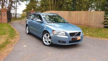 Volvo V50 2.0D SE for sale by Woodlands Cars (1)