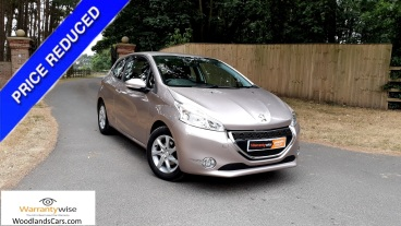 2014 Peugeot 208 1.2 Active for sale by Woodlands Cars Rillington - special offer