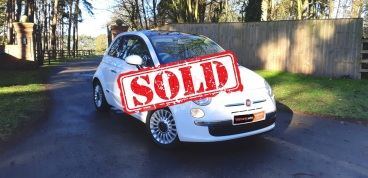 Fiat 500 For sale by Woodlands Cars - sold