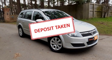 Low Mileage Vauxhall Astra Estate Automatic for sale by Woodlands Cars - deposit