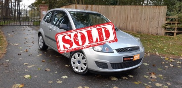 2007 Ford Fiesta 1.25 in Silver - sold