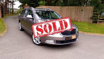 2010 Skoda Superb Estate for sale by Woodlands Cars - sold