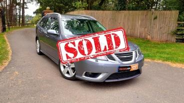 Saab 9-3 TiD Estate for sale by Woodlands Cars - SOLD