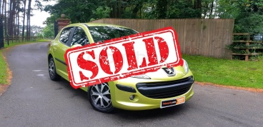 2008 Peugeot 207 1.4 For sale by Woodlands Cars - sold